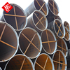 Wholesale beveled straight cut ends ERW welded round steel tube with 3PE FBE PP surface