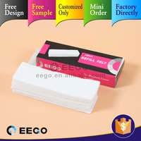 Promotional Gift flexiable magnetic whiteboard,magnetic white board refill pad
