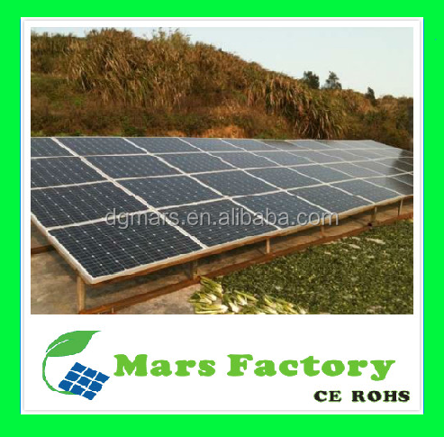 15KW 20KW complete off grid solar mono panel power system for home use / solar water pump system
