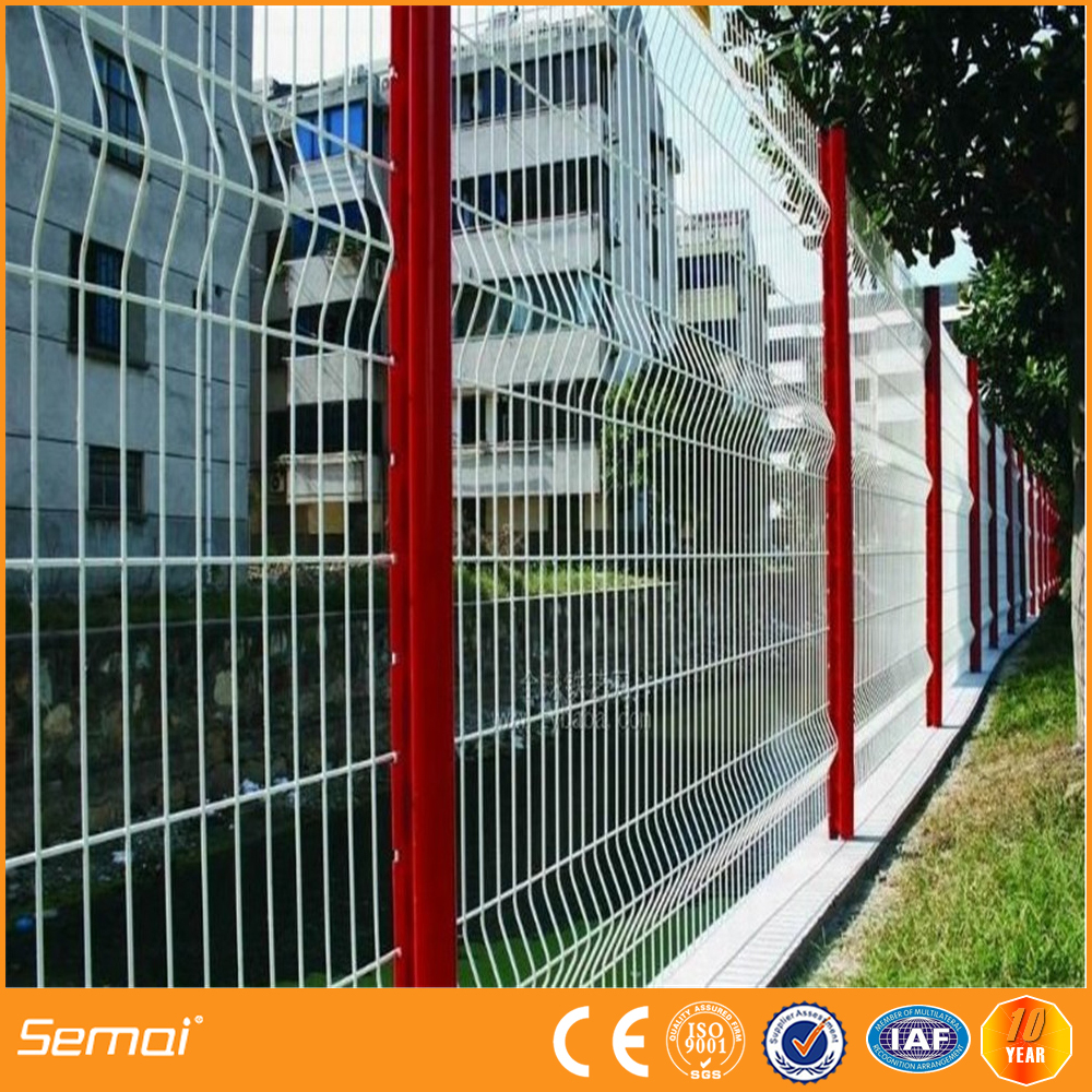 Welded Curved Panel Fence, Welded Curved Panel Fence Suppliers and ...