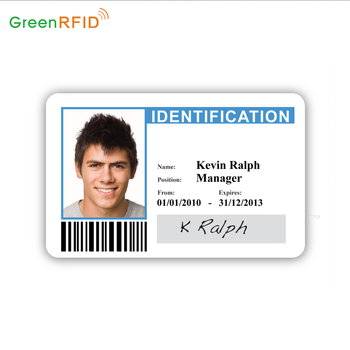 Custom Design Plastic Pvc Offset Printing School Student Id Card
