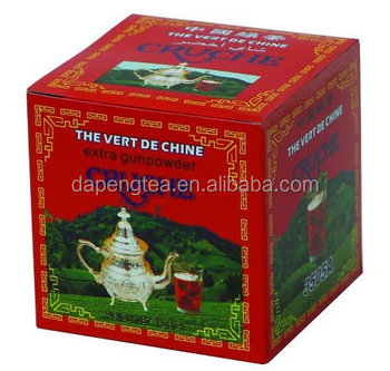 China green tea Gunpowder 3505 the vert de chine with low price to morocco