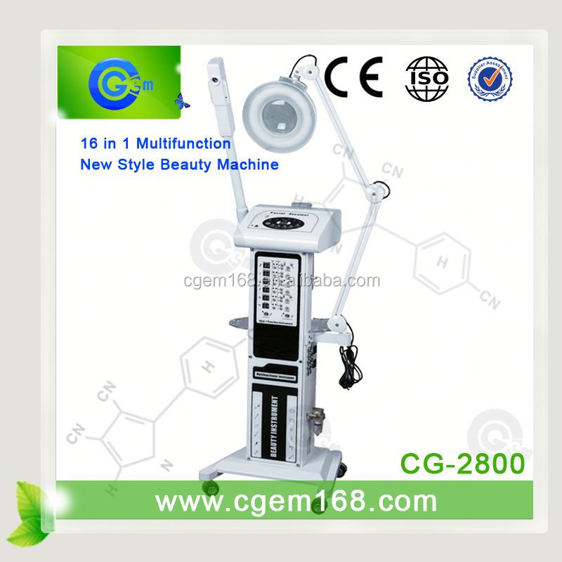 CG-2800 2015 cheapest 16 in 1 beauty care equipment for Skin Beauty