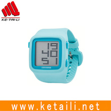 New arrival sport style silicone rubber sport LED wrist watch factory