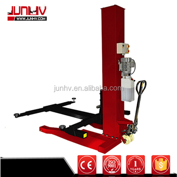 Single Hydraulic 1 Post Used Double Parking Car Lift For