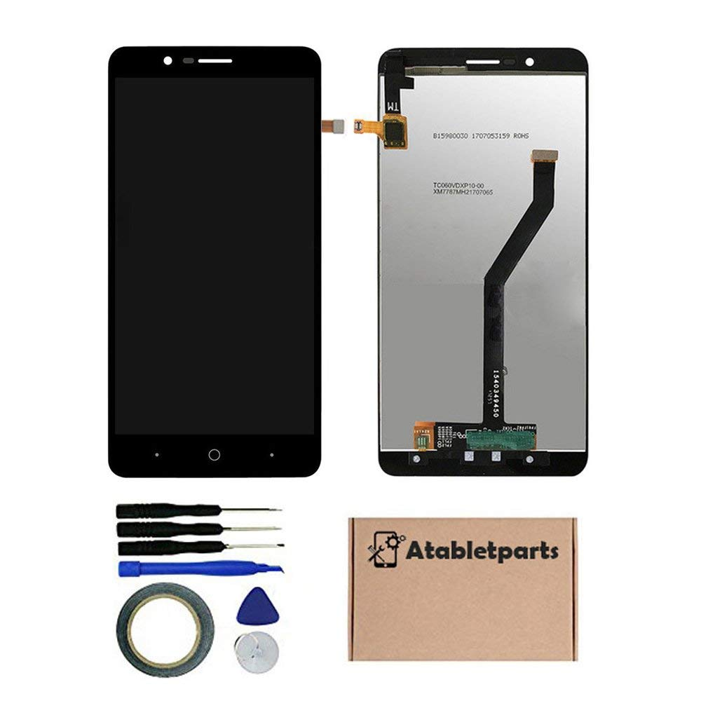 Atabletparts Replacement LCD Screen Display Touch Screen Digitizer Assembly for ZTE Blade ZMax Z982 / ZMax Pro 2 / Sequoia 6 Inch