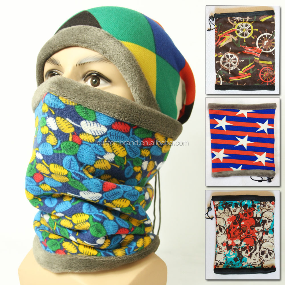 Creative multifunction scarf for travel in winter