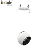 Architectural hanging lamp round 9w pendant light