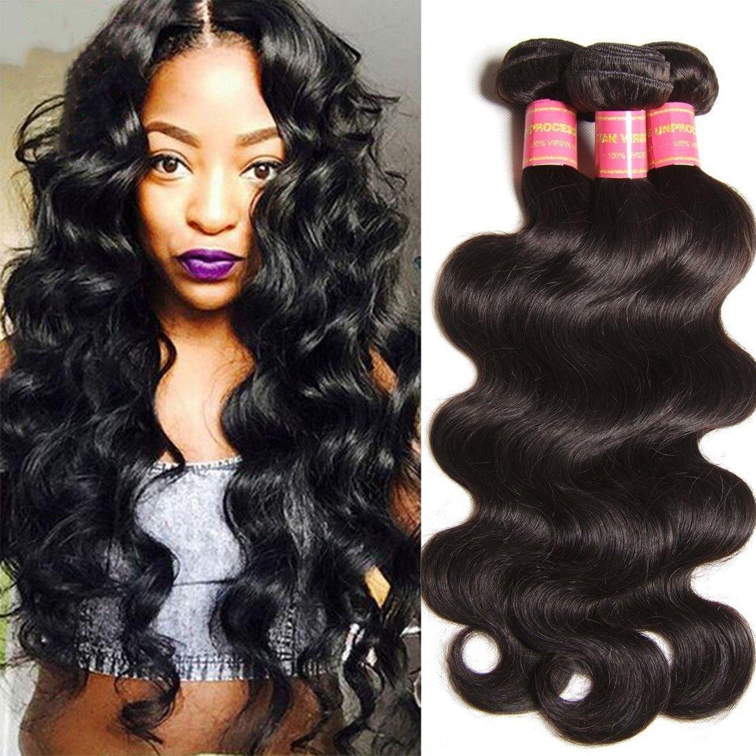 Buy Yiroo 6a Grade Malaysian Hair 16 18 20 Inch Body Wave Hair 3