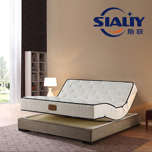 Home furniture electric smart bed with massage function