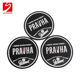 Factory wholesale factory two-side pvc glass coasters