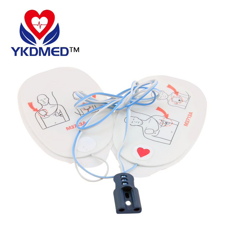 Amazon hot sell adult / child use M3713A defibrillator electrode pads
