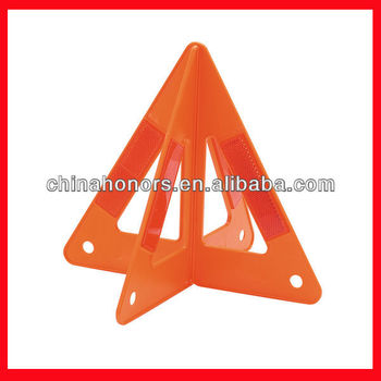 Orange Triangle Road Signs/safety Warning Triangle Traffic Sign ...