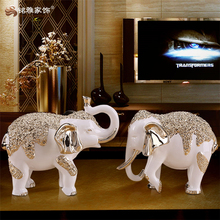 china guangzhou factory best price resin elephant crafts, home interior desk decor elephant statues, OEM elephant figurines