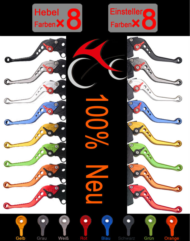 CNC Motorcycle Clutch and Brake Levers for Aprilia RSV4/RSV4 Factory 2009-2012 10 11