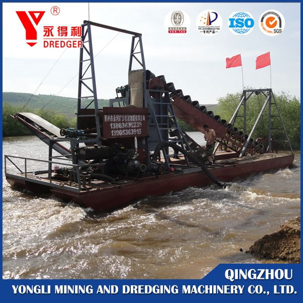 Sand Dredge Ship and digging machine