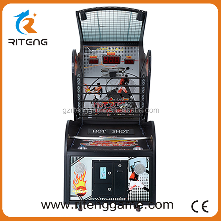 game machine for hot sale basketball arcade game machine funny kids used basketball arcade game