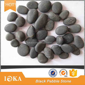 Tumbled Carving River Black Pebbles Black Landscape Stone Price - Buy Black  Landscape Stone,Black Pebble,Natural Stone Pebbles Product on Alibaba com