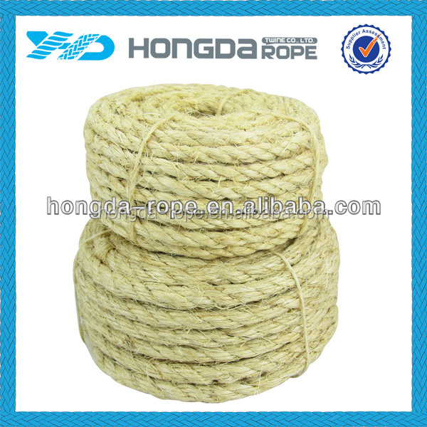 Good quality best selling 2 inch manila marine rope for sale