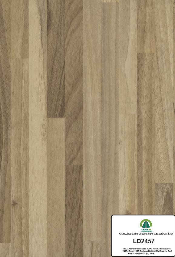 super calidad de melamina papel decorativo para muebles con logo