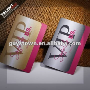 Custom Fashion Design Smart Magnetic Stripe Plastic PVC Vip Membership Card