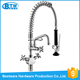 wholesale OEM&ODM 304 stainless steel Brushed Pull Out Commercial Pre-rinse Units kitchen faucet