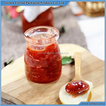 empty mini glass jam jar, glass jar for home made marmelade