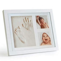 New design picture frame baby hand prints baby footprint