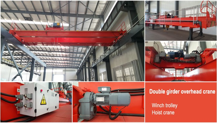 double girder lifting overhead crane