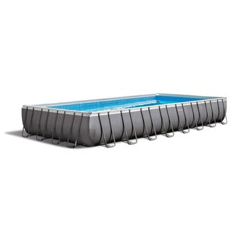 INTEX 26356 Ultra Metal Frame Rectangular Swimming Pool Set above ground swimming pools