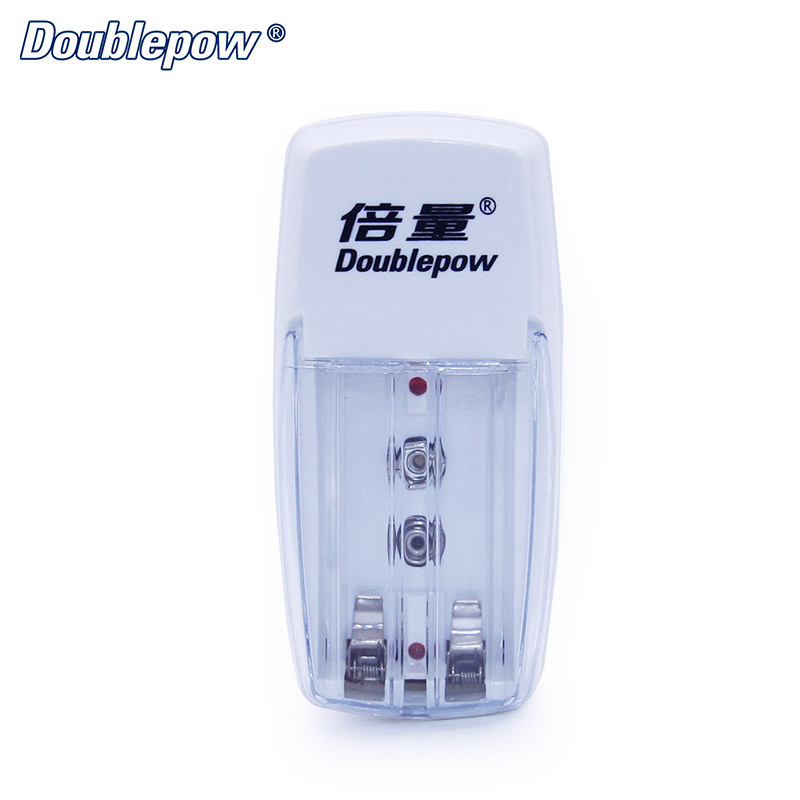 2 Slots D01 LED Multifunction Rapid Charger for 1.2V AA/AAA/9V Ni-MH/Ni-CD Rechargeable Battery