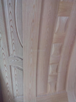 Natural Ash Veneer Faced HDF exterior door skin