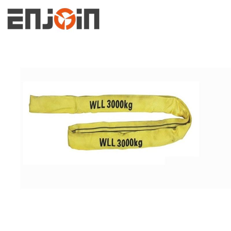 Endless Round Lifting Sling 1 Metre x 1 Ton Tested 0.5m EWL