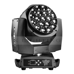led big bee eye 19* 15w Clay Paky Led Moving Head stage beam wash zoom light