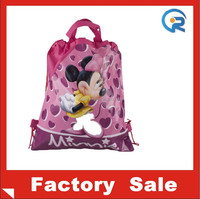 Hottest sale reusable smooth material 190T tote bags/designer shopping bag from china factory