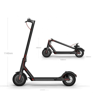 Hotsale Mi365 2 Wheel Stand up 350w Electric Scooter 7.8A With App Factory Price