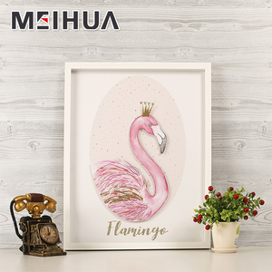 High quality cheap custom cutting paper artwork print frames