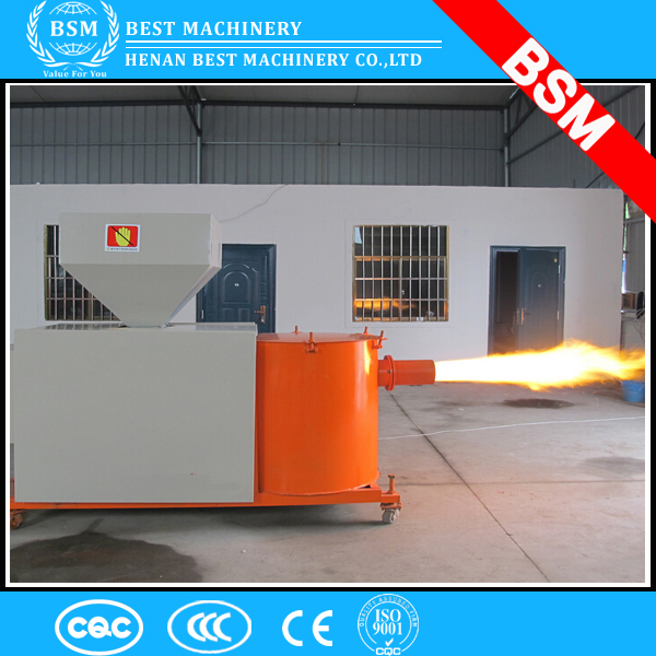 BSM brand Wood pellet biomass burner/biomass gasifier for boiler