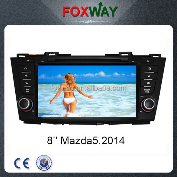 8Inch touch screen new Mazda 5 car dvd player with car gps navigation/dvd/vcd/Mp3/Mp4/Bluetooth/Radio/TV/3G