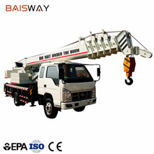 Factory wholesale 12 ton mini truck mounted crane for construction