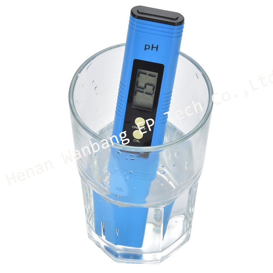 Pocket big LCD screen home and lab use liquid pH analyzer ph meter