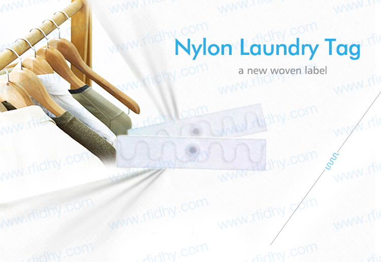 HYLD7015 Washing Resistance EPC Class1 Gen2 UHF Textile RFID Laundry Tag