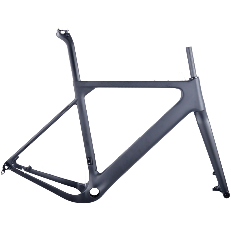 2018 Carbon road Frame 700C Stiffness Cyclocross disc di2 carbon gravel bicycle frame фото