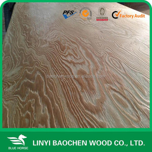 Flexible Pine Commercial board / Embossed Larch Plywood 15mm 1220 x 2440