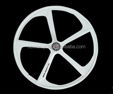 700C magnesium alloy wheel for fixed gear bicycle