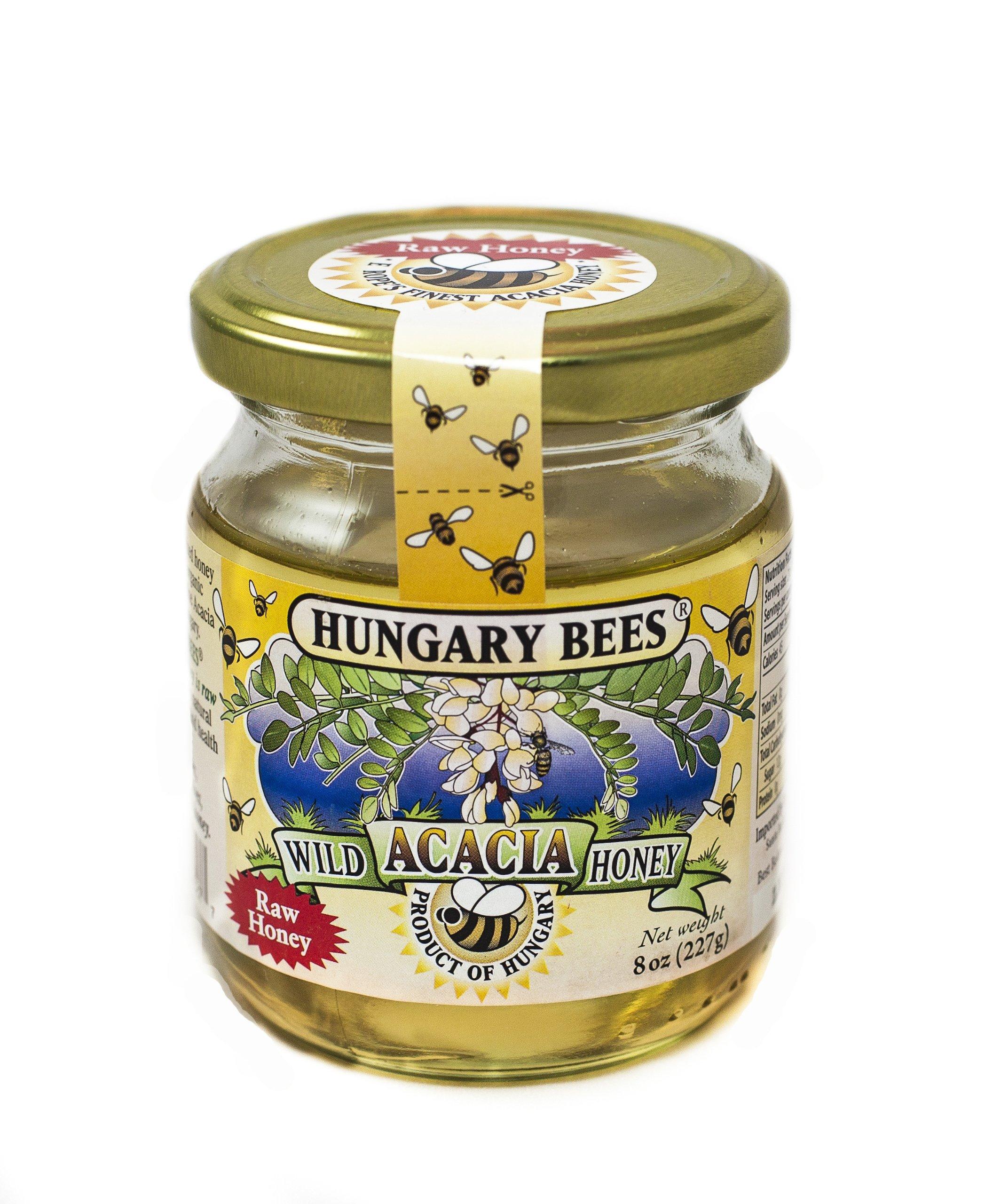 Hungary Bees Wild Acacia Honey 8oz
