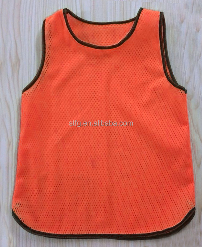 2016 Factory directly sell soccer Training Bibs , customized cheap soccer training vest