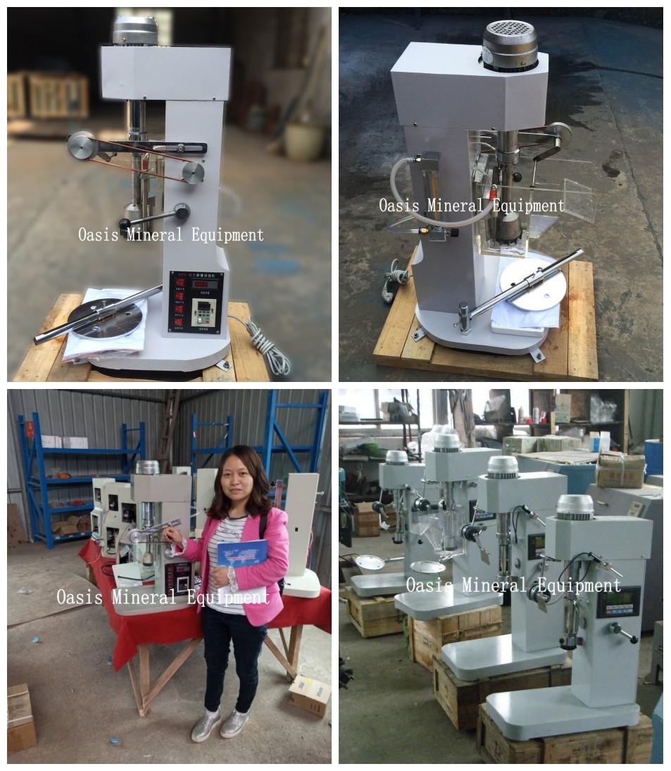 Forth flotation machine Laboratory temperature control flotation machine for ore dressing