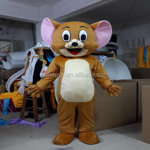 Hola cartone animato mascotte tom e jerry costume