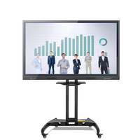 65Inch Display Interactive White Board 10 points IR multi touch LCD LED interactive whiteboard
